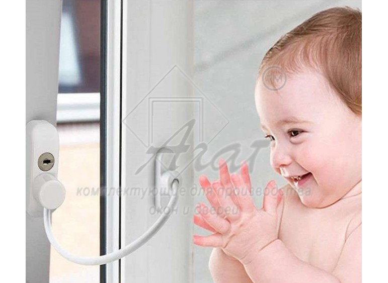 Оконные замки от детей на пластиковые окна