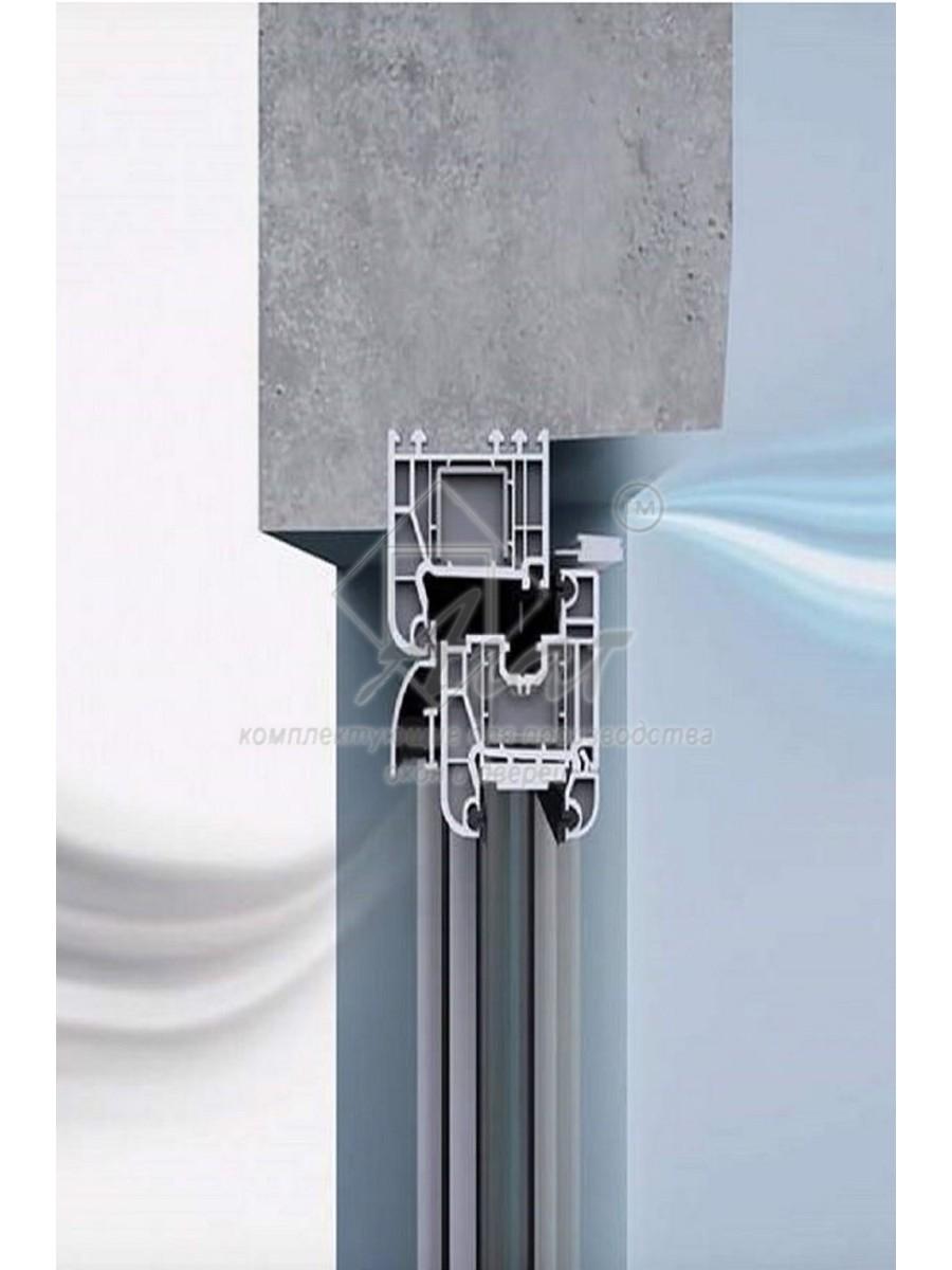 Клапан вентиляционный оконный Air-Box ECO с фильтром