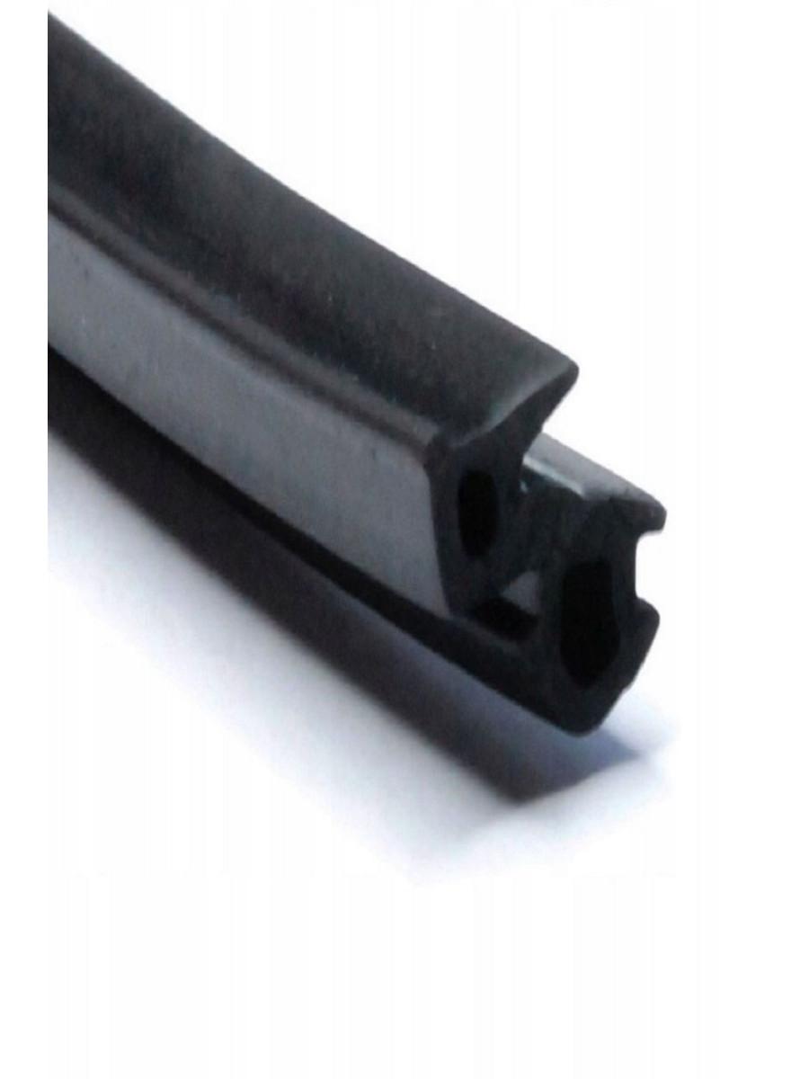 Уплотнитель универсальный для пластиковых окон, ДЛИНА - 5 м, черный
