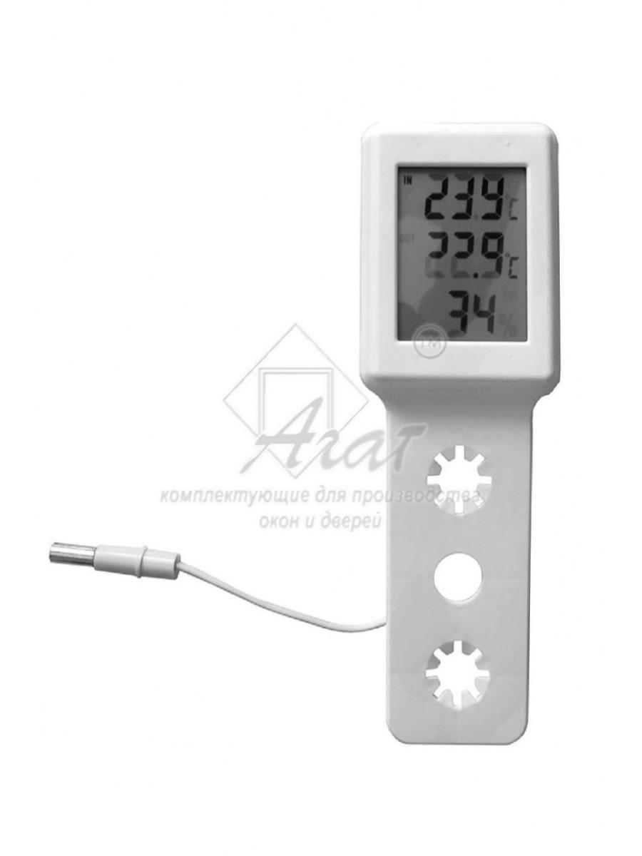 Термометр оконный Термогигрометр электронный