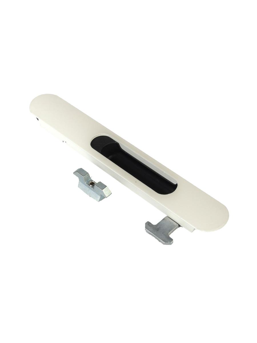 Защёлка Ручка для раздвижных окон балконного остекления со скрытым монтажом