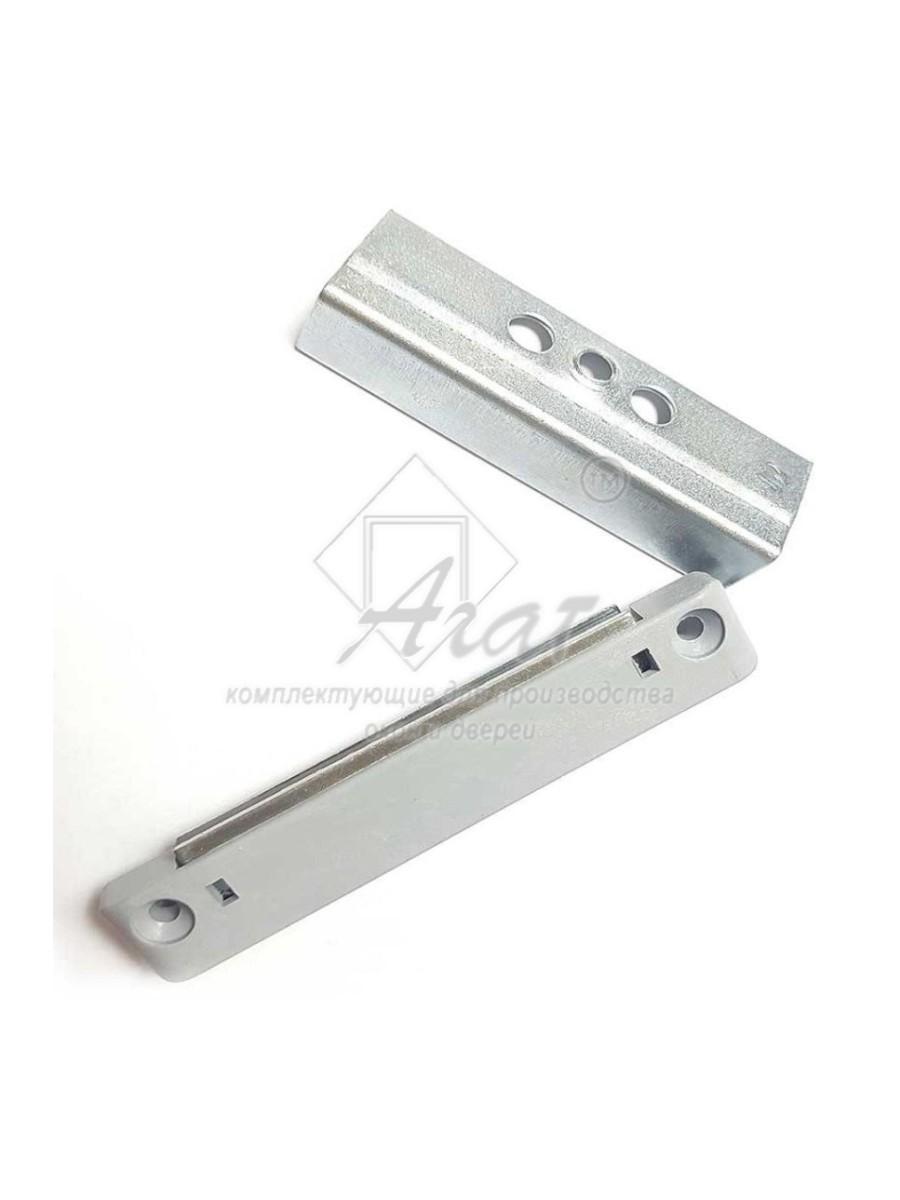 Защёлка магнитная для балконных дверей, 13 мм