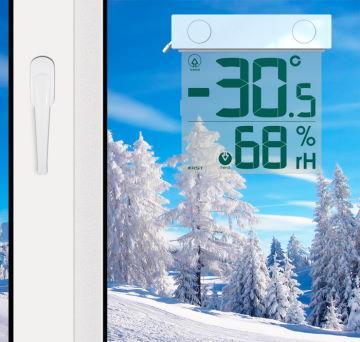 Электронно-уличные термометры