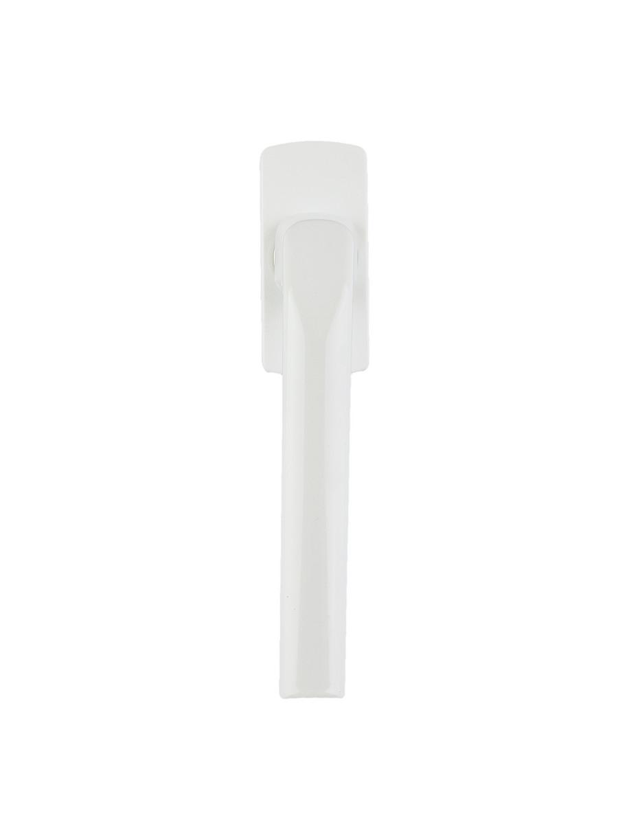 Ручка оконная белая металл, Ручка универсальная, Ручка на ПВХ окно