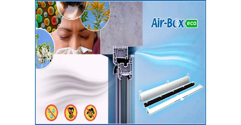 Приточная система с фильтром Air-Box ECO